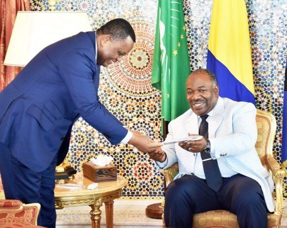 Jean-Claude Gakosso reçu par le président Ali Bongo Ondimba