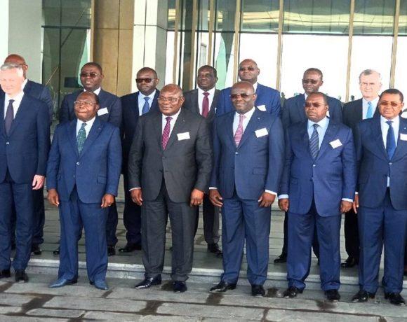 Les ministres des finances à Brazzaville