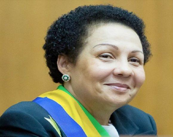 Lucie Milebou Aubusson, la présidente du Sénat