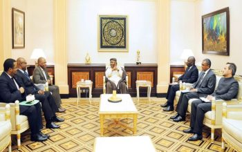 Ali Bongo Ondimba a reçu Léonard She Okitundu