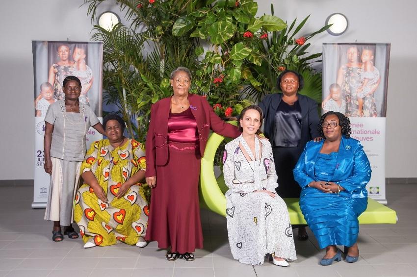 Sylvia Bongo Ondimba et les veuves