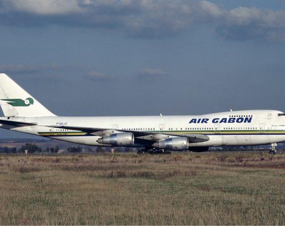 Un avion de la compagnie aérienne gabonaise