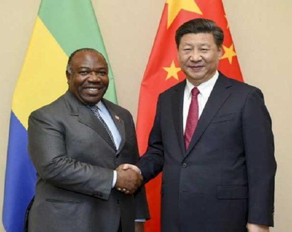 Ali Bongo Ondimba à Beijing