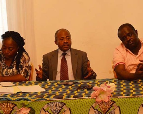 Benjamin Nzigou parle de Olam (photo gabonreview)