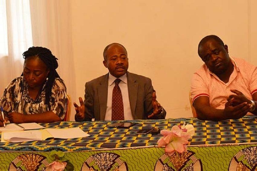 Benjamin Nzigou parle de Olam (photo gabonreview)