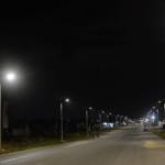 Eclairage public à Akanda