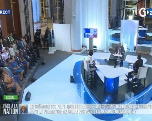 Le président Ali Bongo Ondimba répond aux gabonais