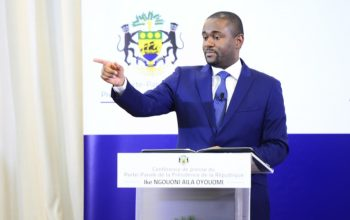 Ike Ngouoni Aila Oyouomi, conférence de presse du 11 septembre 2018