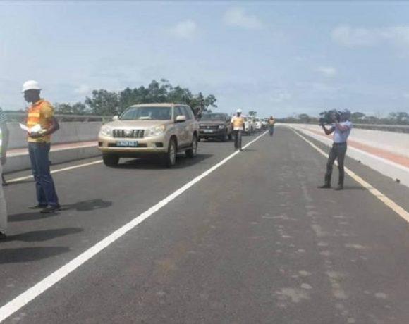 La route de Port-Gentil Omboué
