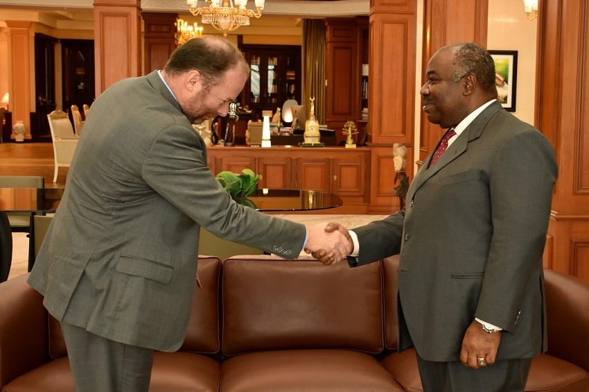 Le président Ali Bongo Ondimba a reçu Lin Espey