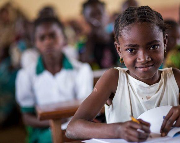 Les enfants au Cameroun