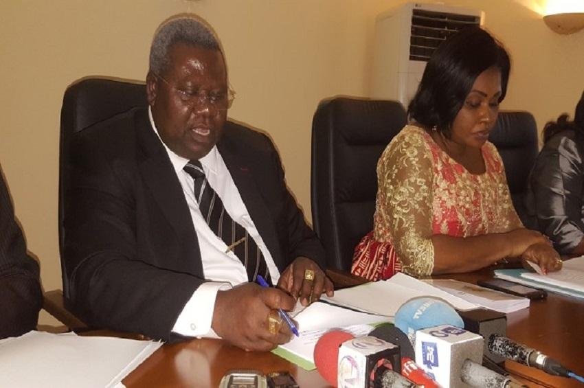 Moïse Bibalou Koumba lance la campagne