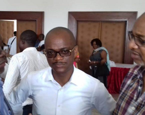 Tony Ondo Mba, candidat