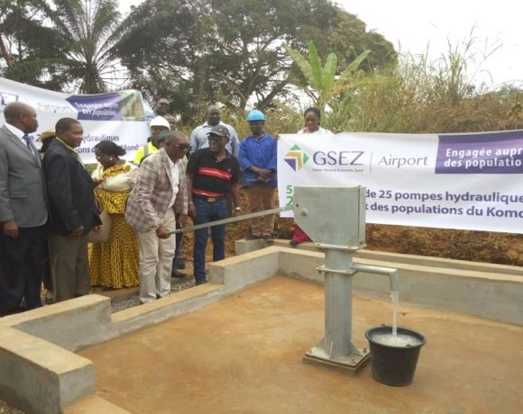 Une des pompes hydrauliques offertes par GSEZ