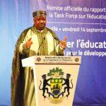 remise du rapport des travaux de la task force sur l'éducation à S.E. Ali Bongo Ondimba