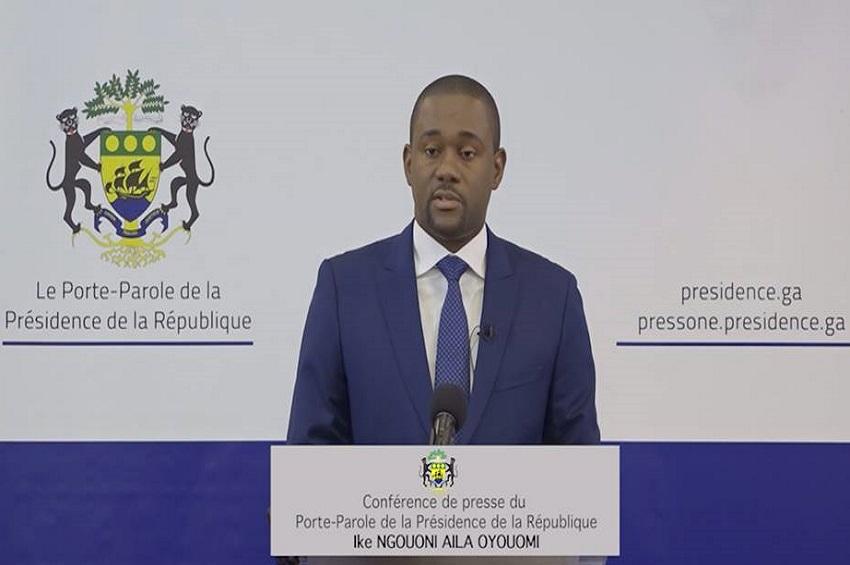 Ike Ngouoni à la conférence de presse