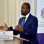 Le porte-parole de la présidence Ike Ngouoni Aila Oyouomi