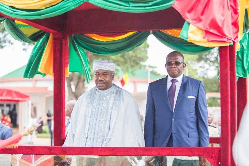 Le président Ali Bongo Ondimba et Ibrahima Kassory Fofana