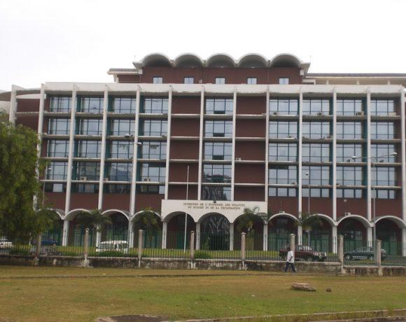 Le siège du ministère de l'économie