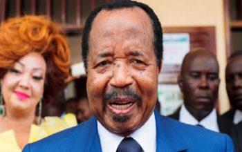 Paul Biya réélu