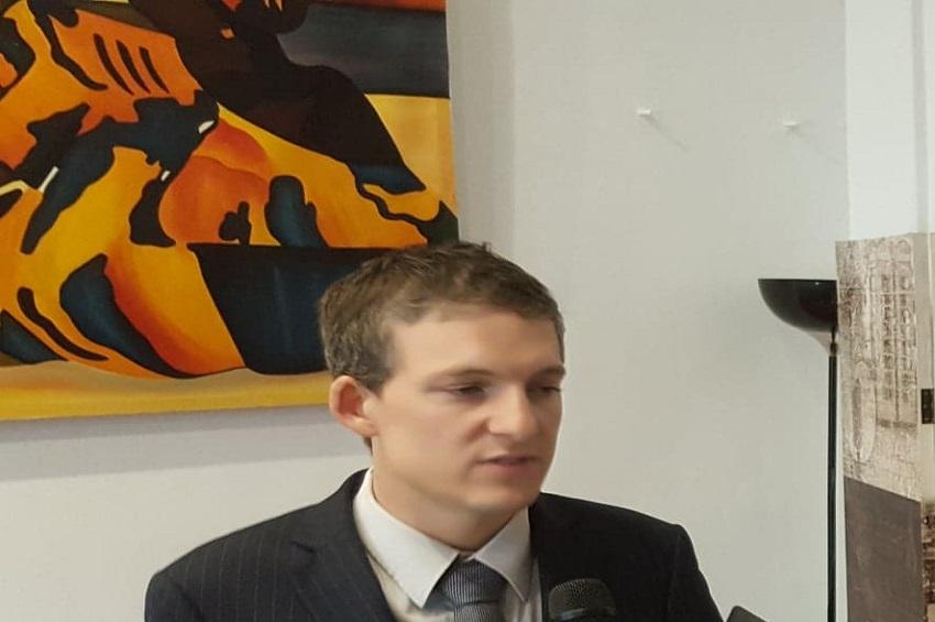 Simon Seroussi, le premier secrétaire de l'Ambassade d'Israël au Cameroun
