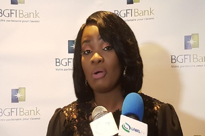 Le DG de BGFIBank, Ludwine Oyeni Amoni