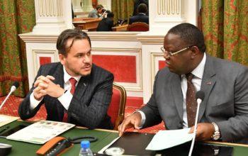 Le Premier ministre et le DC au Conseil des ministres