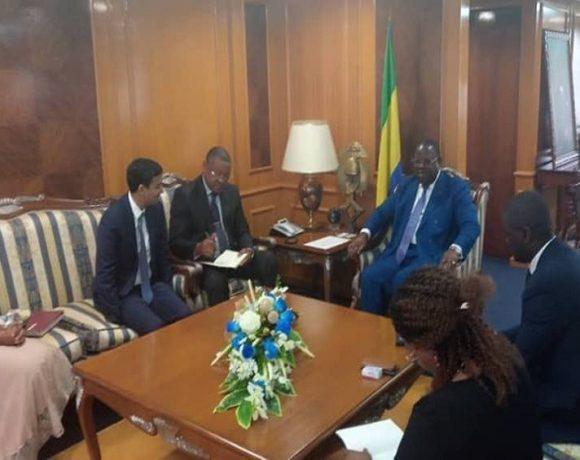 Le Premier ministre reçoit le patron de GSEZ