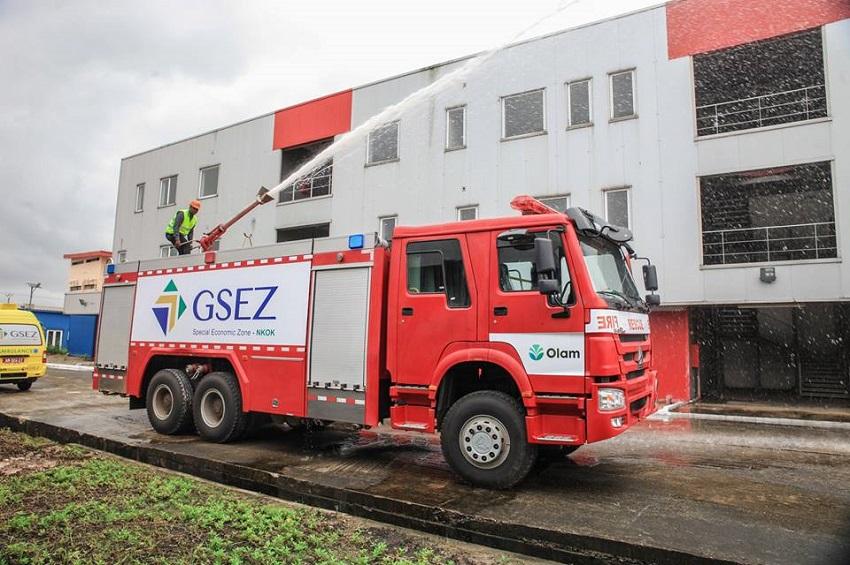 Le centre de secours de GSEZ