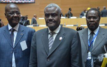 Moussa Faki Mahamat, président de la Commission de l'Union Africaine