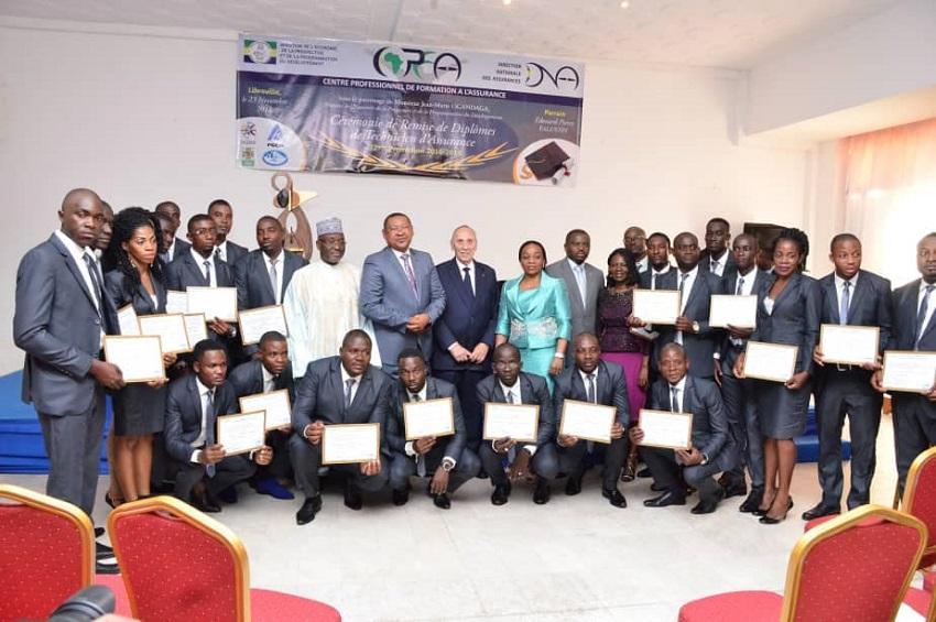 remise de diplômes au CPFA