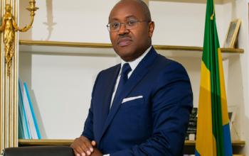 Jean-Fidèle Otandault, ministre d'Eat au budget