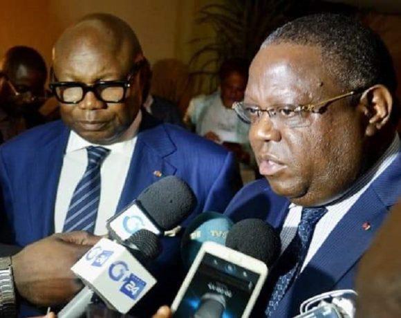 Maganga Moussavou et Issoze Ngondet