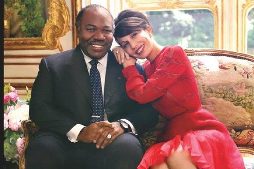 Sylvia et Ali Bongo Ondimba