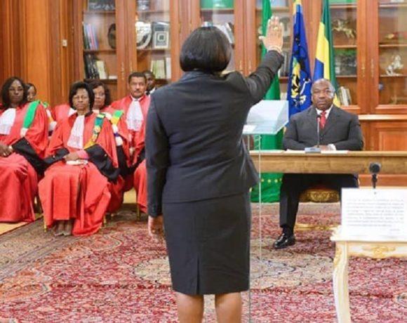 Ali Bongo Ondimba reçoit le serment du gouvernement