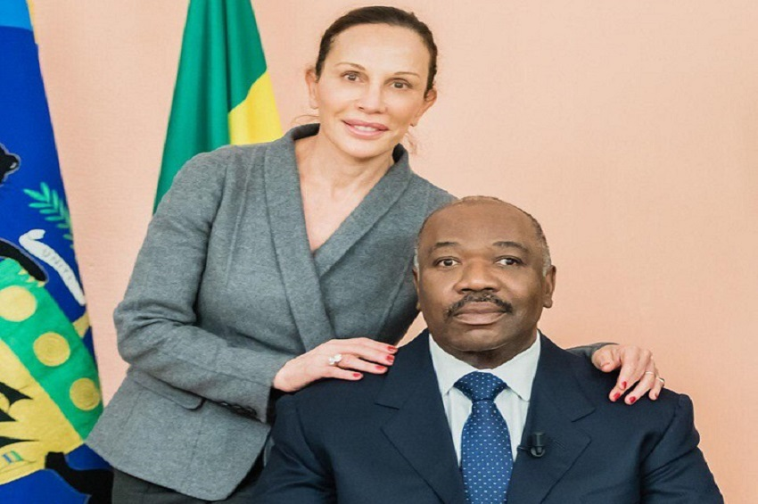 Ali et Sylvia Bongo Ondimba