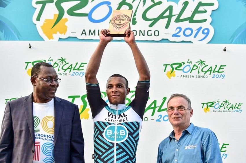 Lorrenzo Manzin champion de la 4ème étape de la tropicale