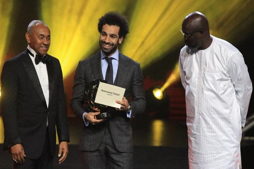 Mohamed Salah sacré