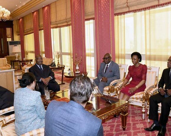 Séance de travail entre Ali ongo et les présidents des institutions