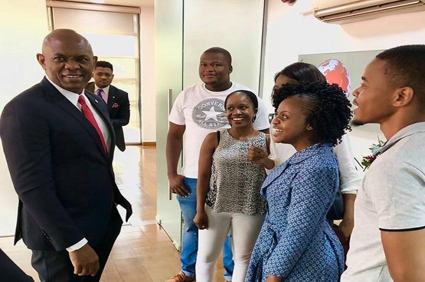 Tony Elumelu et les entrepreneurs