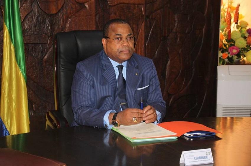 Julien Nkoghe Bekale, le PM