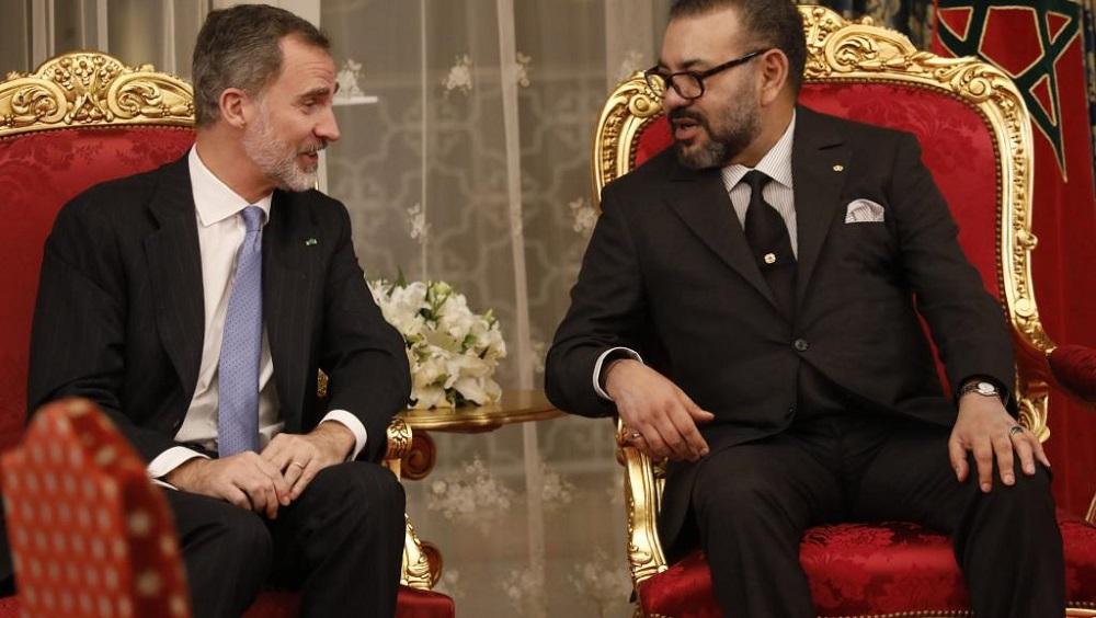 Les Rois d'Espagne et du Maroc