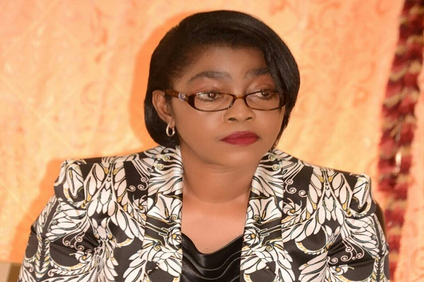 Rose Christiane Ossouka Raponda, ministre d'Etat à la défense nationale