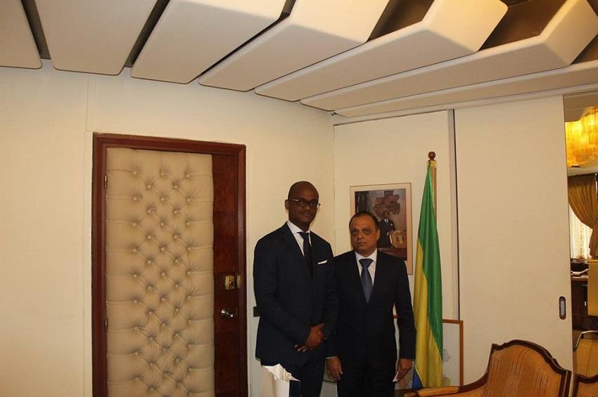 Tony Ondo Mba et Narendra Bajaj