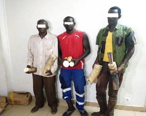 Trois sénégalais arrêtés à Moanda