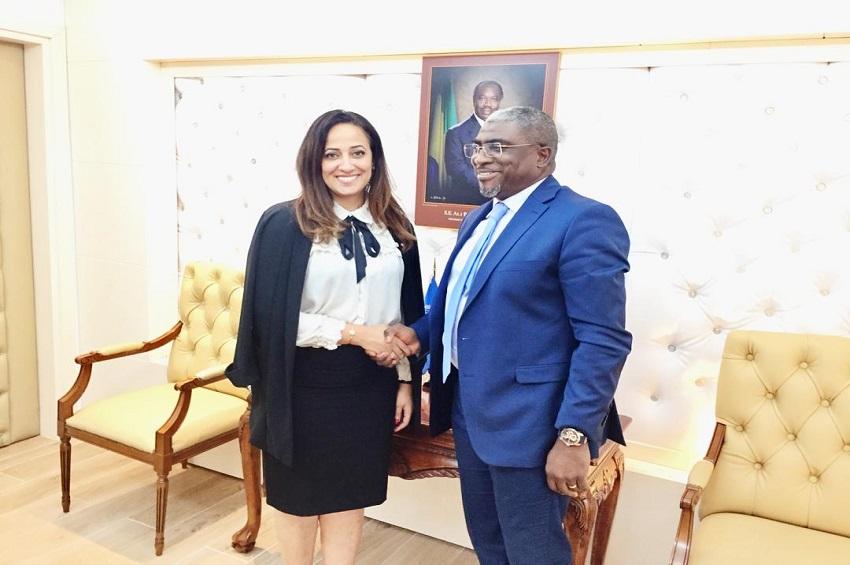 Abdu Razzaq Guy Kambogo et Amélia Lakrafi