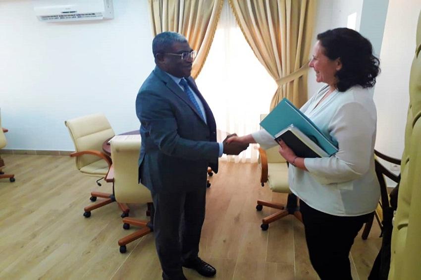 Abdu Razzaq Guy Kambogo et Nathalie Béchet