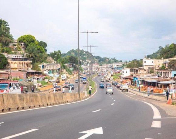 L'axe routier PK5-PK12