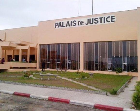 Le Palais de justice de Libreville