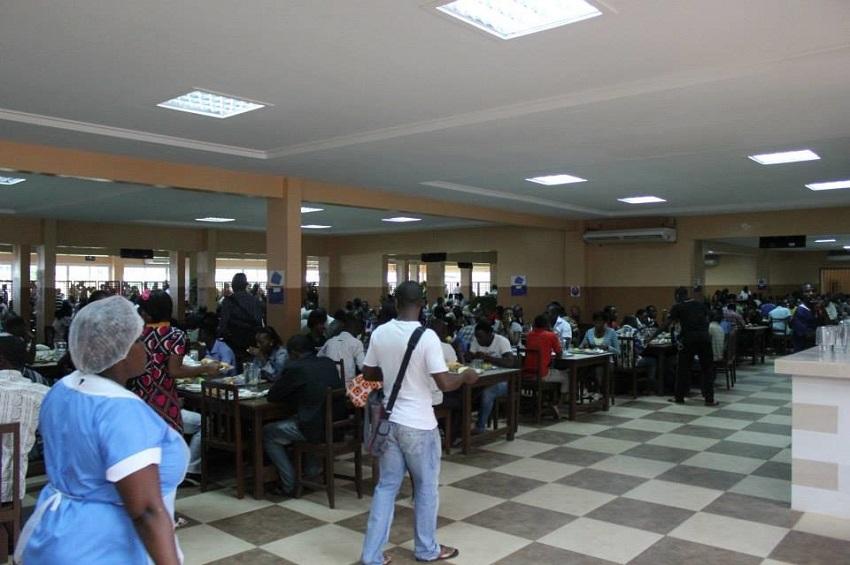 Le restaurant de l'Université Omar Bongo